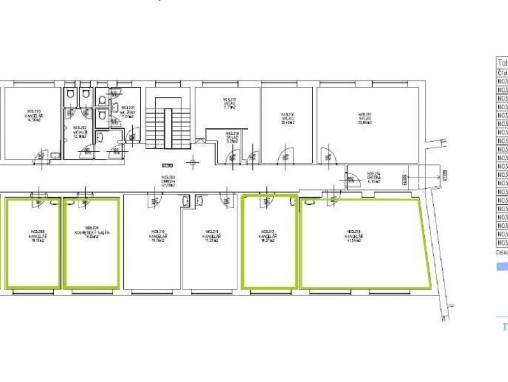 Náchod  - pronájem kanceláří  5 x19  m², 1x 42 m² a soubor 120 m² foto 1