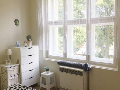 Jaroměř-Josefov, zděný byt 2+1  OV s balkónem a zahrádkou foto 1