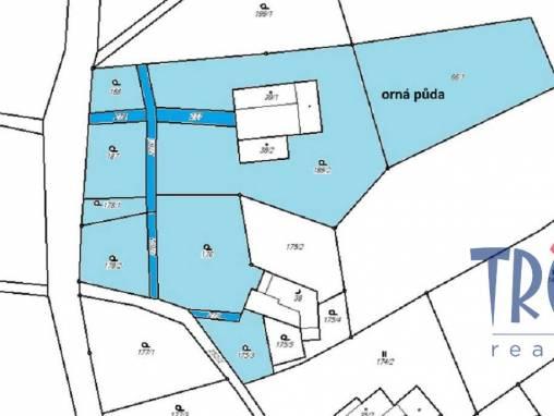 Brzice - Proruby - prodej souboru pozemků 8391 m² foto 1