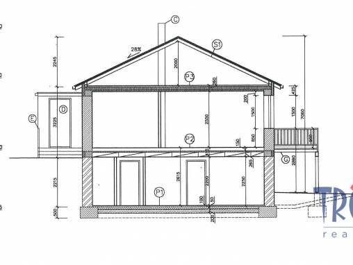 Velký Třebešov - stavební pozemek 1082 m² s projektem na stavbu rodinného domu foto 1