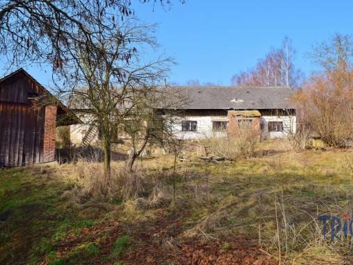 Lužany - starší rodinný dům určený k rekonstrukci s pozemkem 1656  m² foto 1