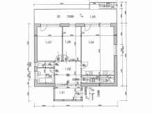 Velký Třebešov - stavební pozemek 1082 m² s projektem na stavbu rodinného domu foto 2