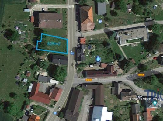Heřmanice - prodej stavebního pozemku 829 m²